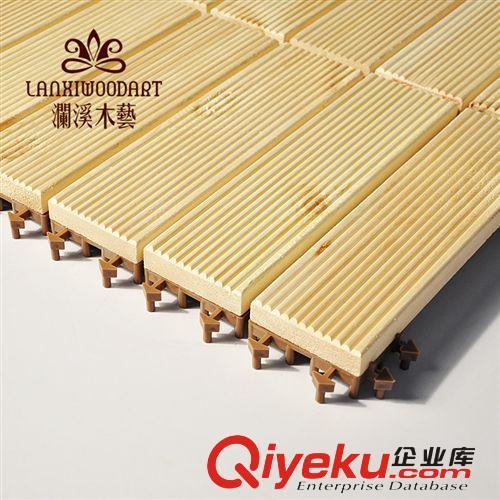 樟子松地板阳台木板户外木材