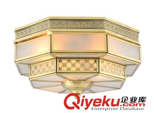 【欧式全铜吸顶灯 卧室厨房洗手间纯铜焊锡灯饰