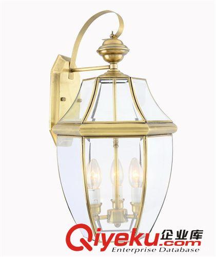 欧式简约纯铜壁灯 美式田园过道户外防水灯具 门头外墙北欧特价灯