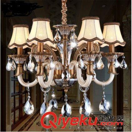 高档欧式水晶吊灯奢华锌合金大吊灯豪华别墅大厅客厅餐厅装饰灯具
