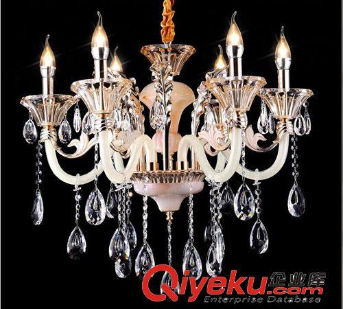 奢华出口水晶吊灯 锌合金玉石水晶吊灯