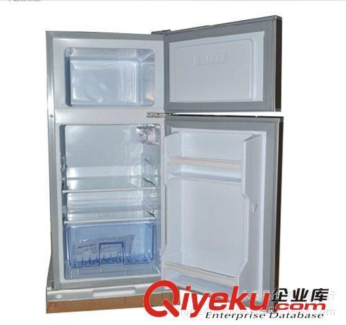 冰箱 凯力bcd-93 家用双门冰箱小型拉丝节能