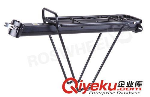 供应roswheel乐炫62410自行车货架 快拆式带护栏后货架