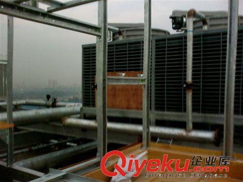 方型冷却塔 菱科方形冷却塔横流式冷却水塔玻璃钢低