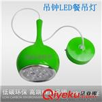 LED餐吊灯 特价餐吊灯LED吊线灯酒吧吧台灯简约时尚餐厅灯绿色吊钟圆球形
