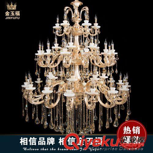 水晶吊灯 热销欧式水晶吊灯创意灯饰吊灯简约客厅卧室