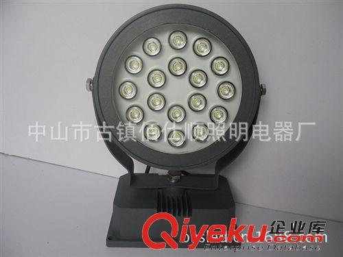 LED投光灯 佰仕顺18W投光灯 大功率投光灯 工程射灯 圆形投光灯