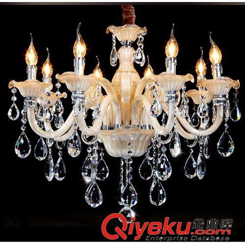 蜡烛灯  水晶吊灯 批发欧式吊灯锌合金k9水晶