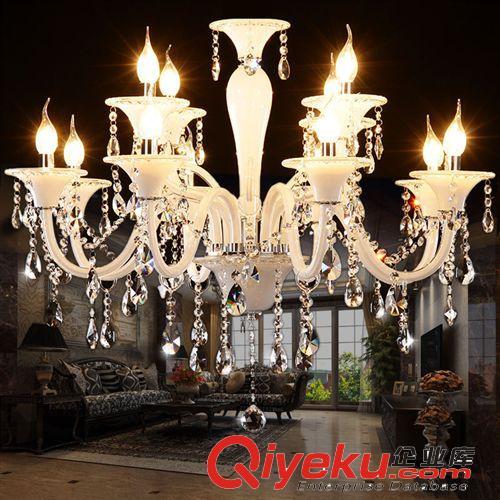 奢华欧式水晶吊灯