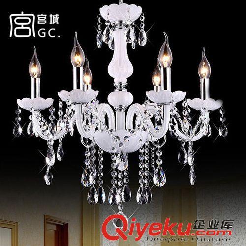 灯具风格 批发欧式水晶吊灯蜡烛灯 客厅卧室餐吊灯led