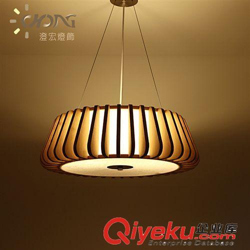 魔法木艺吊灯 创意木艺餐灯客厅大灯大气北欧灯具
