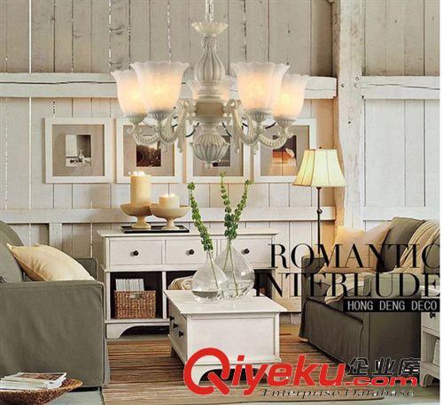 吊灯 奢华客厅灯 欧式吊灯 简约复式楼水晶灯饰 别墅卧室灯具