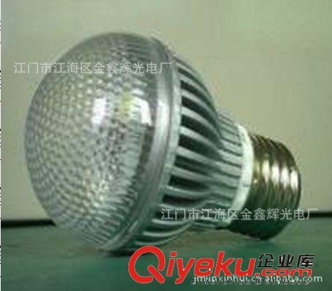 LED其它室内照明系列 江门厂家供应台湾晶元芯片 压铸铝+PC 质保两年 4*1W LED球泡灯