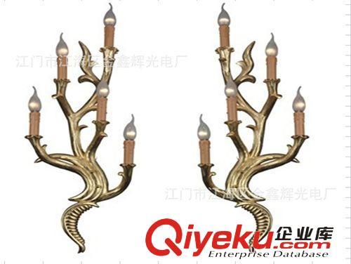 LED其它室内照明系列 江门厂家供应高档装饰 5*3W LED壁灯