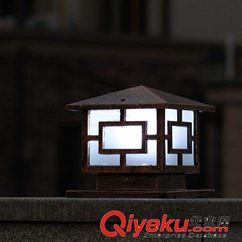 柱头灯 豪球欧式铝制灯别墅大门柱子墙头灯户外防水围墙花园庭院灯具