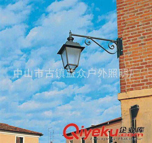 壁灯 批发户外防水挑臂壁灯欧式美式仿古复古别墅走廊阳台外墙专用