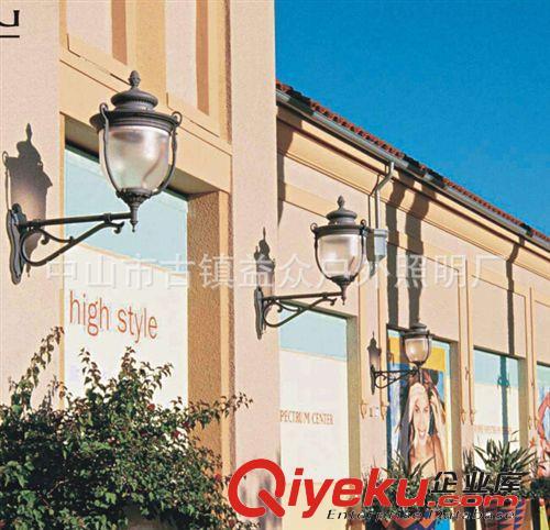 批发户外防水挑臂壁灯欧式美式仿古复古别墅走廊阳台