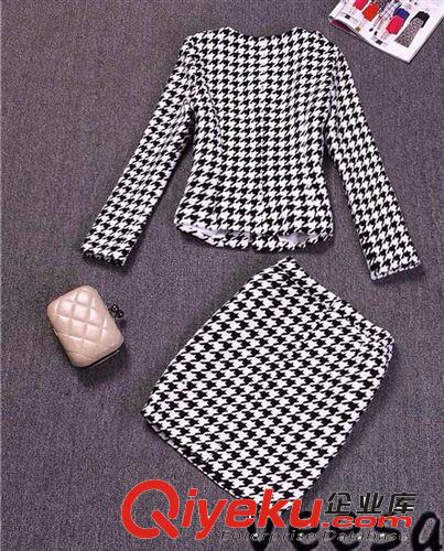 2104秋冬新款女式套装时尚女外套韩版女装范冰冰同款