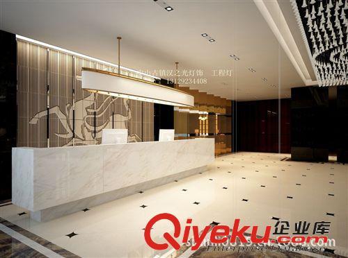 酒店大厅吧台设计