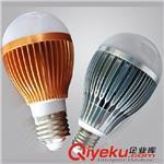 厂家直销 LED灯泡 3W5W7W9W12W E27节能灯泡批发 铝材塑料壳球泡