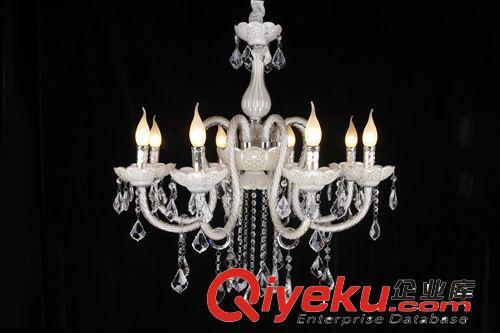 创意田园吊灯餐桌灯灯具 欧式餐厅书房卧室水晶灯吸顶灯图片