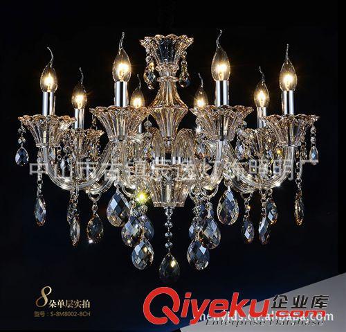 水晶吊灯 豪华层吊灯别墅复式楼客厅宴会厅水晶灯