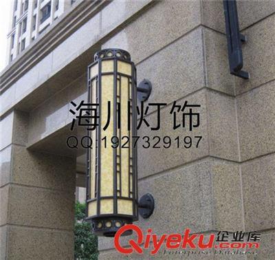 仿云石灯户外欧式壁灯大堂酒店别墅墙壁迎宾灯高档室外方古灯具