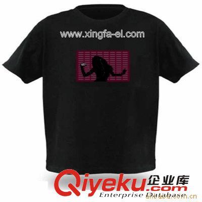 厂家直销时钟T恤 LEDT恤 数码T恤 写字板T恤