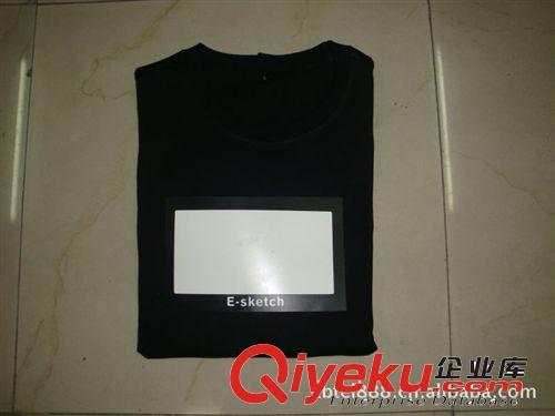 批发声控T恤、手控T恤、EL发光T恤冷光片 写字板T恤 吉他T恤