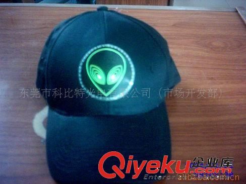 厂家直销EL音控帽子 闪动帽子 棒球帽 音乐帽子 动感 数码帽子