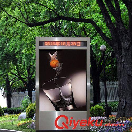 灯箱路牌生产厂家 街道灯箱路牌 户外灯箱指示牌 滚动灯箱路名牌