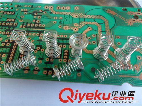 大量供应电磁炉控制板触摸感应开关弹簧,弹簧触摸弹簧
