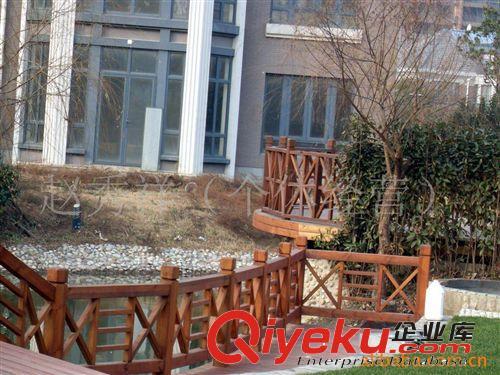 防腐木围栏图片|防腐木围栏产品图片由雅绿景观工程()