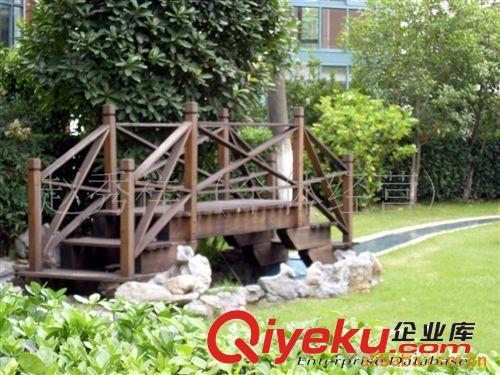 园林景观木桥