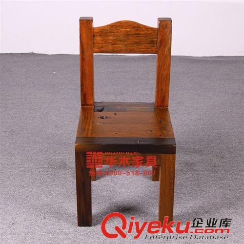 【实木椅子 餐厅 老沉船木凳子