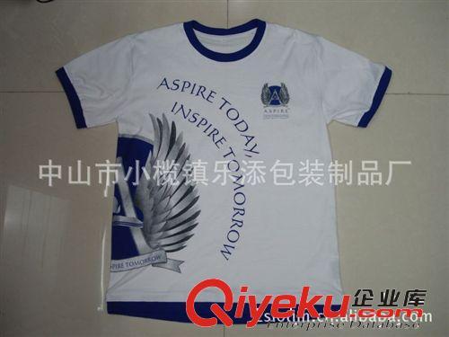 厂家直供广告纯棉T恤、休闲T恤、文化衫 可订制