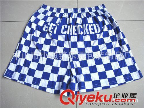 厂家直供男式沙滩裤 休闲沙滩裤 纯棉广告短裤 可订制