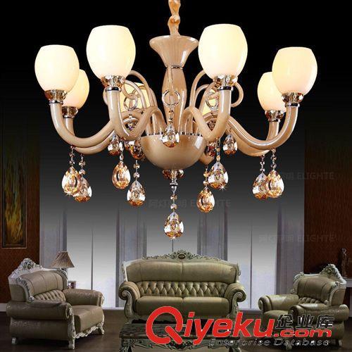 简约现代水晶吊灯饰客厅灯具卧室餐厅意大利风格艺术