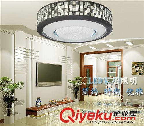 厂家直销led中式现代吸顶灯卧室简约圆灯客厅美观节能