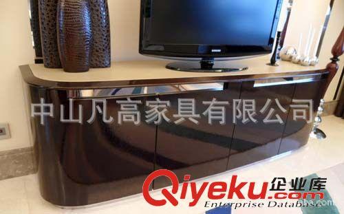 【广东中山板房pu烤漆高光实木板式贴皮现代家具卧
