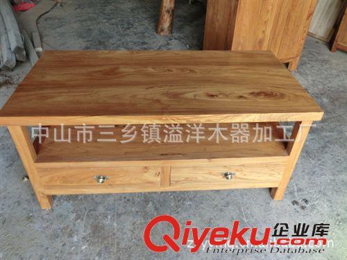简约现代中式实木茶台