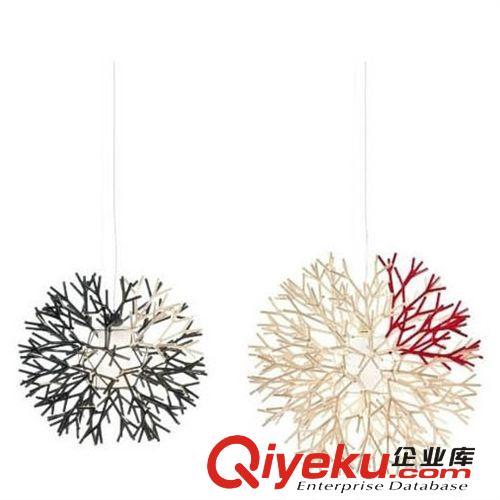现代珊瑚吊灯简约宜家树枝吊灯创意卧室工程灯餐吊灯