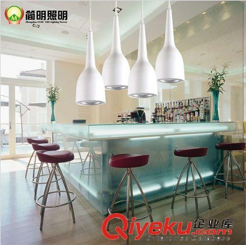 【欧式风格简约现代led创意吊灯吧台餐厅客厅书房