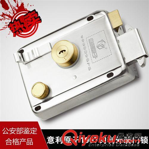 厂家直销 意利原子yl-1007钩利外装大门锁 不锈钢门锁