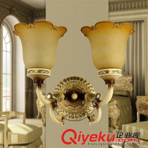 【两护欧式壁灯 客厅卧室床头灯具简约现代时尚创意l
