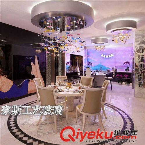现代家装 现代个性楼梯灯灯配 仿真蝴蝶吊饰 橱窗装饰