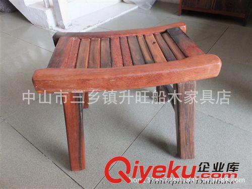 【老船木家具/定制家具/船木小弯木凳子/换鞋凳/矮凳