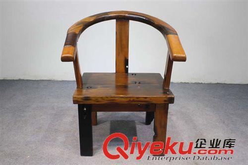 【老船木餐椅 实木靠背椅