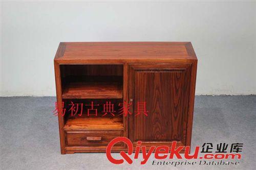 榆木仿古红木家具 实木鞋柜