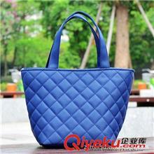 101广州批发欧美时尚女包菱格迷你手拎包小包手提布袋便当包